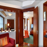 標準ホテルの倍の双生児の寝室セットの家具