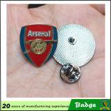 Distintivi personalizzati di Pin del randello di gioco del calcio della tazza di mondo di disegno