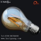 bulbo de vidro do filamento do diodo emissor de luz da venda direta da fábrica do ouro 7W