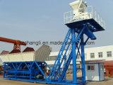 90m3/H planta concreta misturada móvel, planta de tratamento por lotes concreta (HZS90)