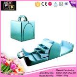 Чисто выходы фабрики коробки ювелирных изделий способа цвета продают оптом (8117)