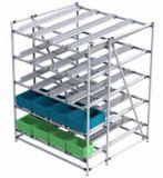 Junta del tubo de la aleación de aluminio para el estante de tubo