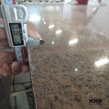 Kingkonree Artificial Quartzo Branco Pedra para bancada (KKR-QF001)