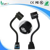 M3m 24V/220V 자석 기본적인 거위 목 모양의 관 LED 기계 작동되는 램프