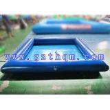 옥외 거대한 팽창식 물 Pool/PVC 0.8-1.0mm 팽창식 물 수영장