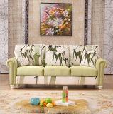 Sofá de cuero moderno genuino moderno