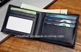 Бумажник 2017 людей бумажника дела высокого качества кожаный