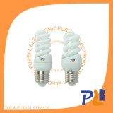 Lâmpada espiral cheia E27 20W 2700k da poupança da energia do T2