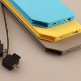 Portable USB Chargerが付いている10000mAh Lithium Ion Battery Powerバンク