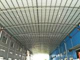 大きいスパンの低価格のCセクション母屋が付いている円形の管の鉄骨フレームの建物