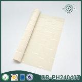 Hauptgewebe-PVC-Gewebe-weißes gesponnenes Vinylausgangsdekoration-Ineinander greifen