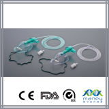Two Diluters를 가진 처분할 수 있는 Medical Venturi Nebulizer Mask