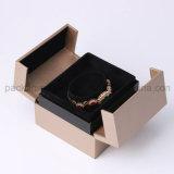Caixa de papel de empacotamento personalizada luxo para a jóia