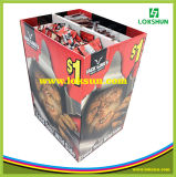 Caja de cartón pop personalizada PDQ Dump Bins Displayer