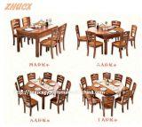 Tableau en bois se pliant de présidence en bois en bois de Diner-Table de Tableau dinant
