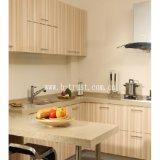 Stagnola/pellicola decorative della laminazione del PVC del grano di legno per mobilia/armadio/armadio/portello 12-20