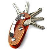 Держатель карманн держателя устроителя ключей EDC облегченный складывая алюминиевый ключевой