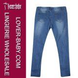 デニムのジーンズの女性(L452)のための細いズボンのズボン