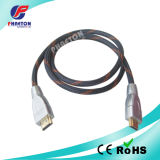 Avoirdupois do cabo de transmissão de dados de HDMI com ferrite do Ethernet (pH3-1036)