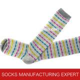 Baumwolle 100% der Frau Coloful Gefäß-Socke (UBM1056)