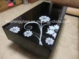 10mm Negro vidrio templado como Coffee Table Top