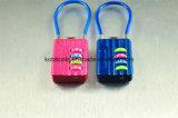 Малый замок комбинации багажа замка кабеля