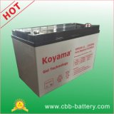 < Koyama> neue Energie-Leitungskabel-Säure-Batterie-Gel-Batterie-Marinebatterie 12V100ah