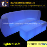 Sofas de plastique du sofa DEL de barre de l'usager DEL Furniture/Illuminated
