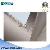 Présentoir en aluminium de forme de triangle pour l'exposition d'exposition