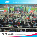 IP65 LED Videodarstellung P4.81 HD imprägniern Wand-Schaukasten-hohe Helligkeit des Stadiums-LED video