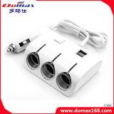 3 Aansteker van de Splitser van Smocking van de Sigaar van de Adapter van de Output van contactdozen de Veelvoudige Navulbare Elektronische