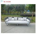 C-Neue Auslegungfoshan-im Freienmöbel-modernes Patio-Garten PET Rattan-Sofa