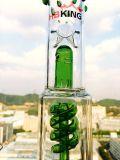 Ciclone do mel da benevolência da fábrica de China tubulação de fumo de vidro do coletor do gelo de 3 Pinch com haste