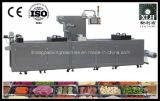 Completamente máquina de empacotamento contínua automática do vácuo do alimento cozido do estiramento Dlz-460