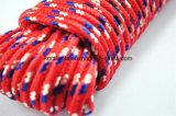 Farbiges umsponnenes Seil des Polypropylen-nichtgewebte Gewebe-20m Verpackung