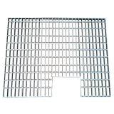 Estante pieza ()/corchete del soporte del acero y de la placa de soporte/acero el rallar