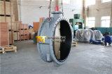 O dobro grande do tamanho Dn1400 flangeou válvula de borboleta com o disco do Al-Bronze C95400