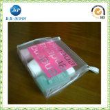 Saco de compra impermeável impresso costume do PVC do plástico (JP-ARplastic036)