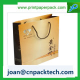 La ropa de la ropa de gama alta recicla la bolsa de papel