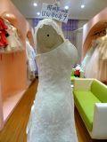 O vestido de casamento luxuoso o mais atrasado Uw4049 de Popularl