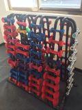 Dumbbell fixo comercial usado interno do aço de cromo do equipamento da ginástica do equipamento da aptidão