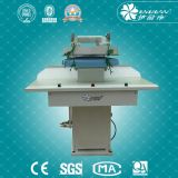 Pano automático que pressiona a roupa da máquina da camisa da lavanderia