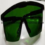 Lente transparente con los anteojos de seguridad amarillos del marco, Eyewear protector, vidrios del ojo, gafas de seguridad del Ce En166, anteojos de seguridad de la lente de la PC