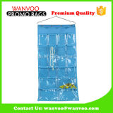 Blue Overdoor Closet PVC Window Hanging Organizer
