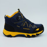 Nuovo Design High Hiking Shoes con Rotating Buckle