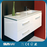 Шкаф ванной комнаты MDF картины с хорошие качеством (SW-W750C)
