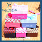 Contenitore di regalo dentellare per la signora Underwear Packaging Boxes