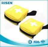 Viaja kit Emergency del bolso de kit de los primeros auxilios el mini