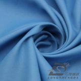 agua de 50d 270t y de la ropa de deportes tela tejida chaqueta al aire libre Viento-Resistente 100% de la pongis del poliester del telar jacquar de la tela cruzada abajo (53136)