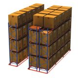 高品質の調節可能な倉庫パレットラック(VNA)